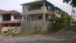 vista da casa na curva