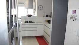 Cozinha e sala separadas