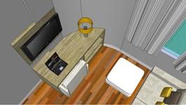 3D rack da sala