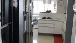Área de serviço atrás da cozinha