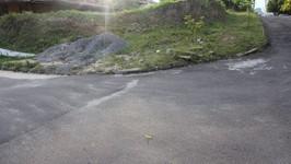terreno na curva