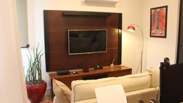 espaço para TV no family room
