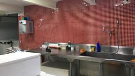 cozinha de apoio