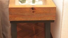 mesa lateral espelho