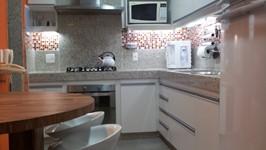 visão geral da cozinha que amamos!