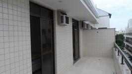 terraço dos quartos