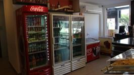 Geladeiras de bebidas e sorvetes