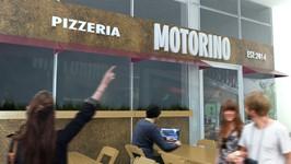 Estudo de fachada para a pizzaria Motorino