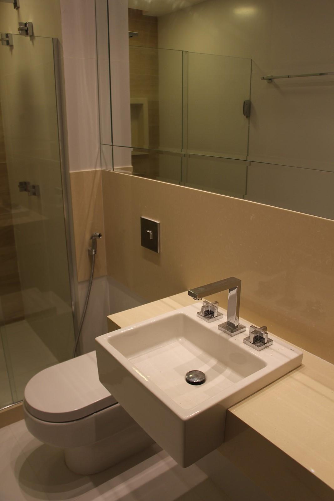 Banheiro social cuba de semi encaixe #966435 1067 1600